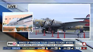 Wings of Freedom tours available in Fort Myers - 7am live report