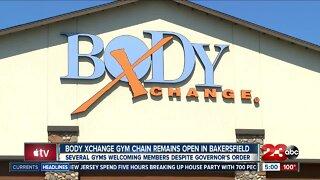 Bakersfield gym chain keeps doors open despite governor's order