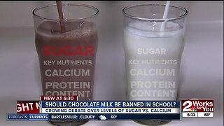 Should school cafeterias serve chocolate milk?