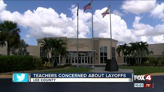 Teachers concerned about layoffs