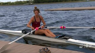 Local rower says new Summer Olympic date may help her