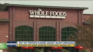 May Day protests planned against major companies