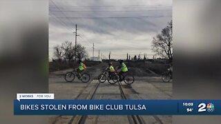 Bikes stolen from west Tulsa elementary school students