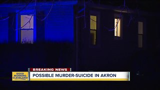Akron police investigating possible murder-suicide