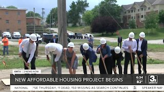 Affordable housing project groundbreaking held in North Omaha