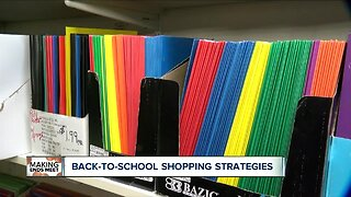 Back to School shopping strategies