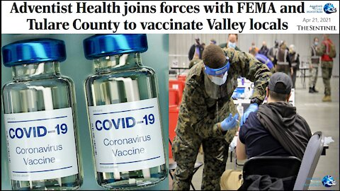 Adventists Join FEMA To Enforce Worshiping COVID Vaccine.