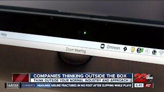 Companies thinking outside the box