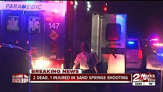 2 dead, one injured in Sand Springs shooting