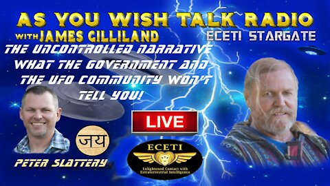 James Gilliland/Peter Slattery - As You Wish Talk Radio LIVE