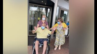 Warren man released from hospital after 137-day battle with COVID-19