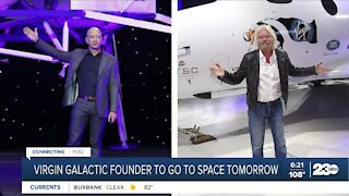 Virgin Galactic founder will go to space Sunday