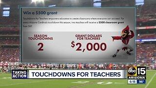 Touchdown for Teachers