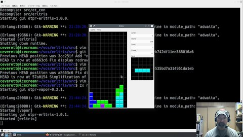Erlang: Writing a Tetris clone Part 3 - Gameplay rules, final features, and deployment