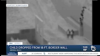 Border Patrol: Two-year-old dropped from border wall near Imperial Beach