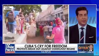 LIVE: THE FIVE: Cuba's Cry For Freedom, Protests BREAK OUT Against Communist Regime 7/12/2021