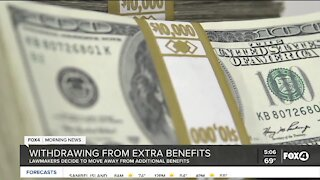 Florida withdraws from extra benefits