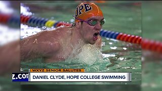 WXYZ Senior Salutes: Daniel Clyde, Hope College Swimming