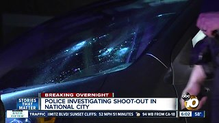 Shooting in National City under investigation
