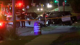 6 injured in 76th and Good Hope crash: Milwaukee Fire Dept.