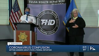 Coronavirus Confusion: Getting answers about state and federal reporting