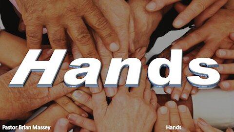 Hands - Pastor Brian