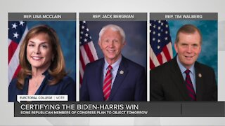 2 Michigan GOP Congressmen to object Electoral College certification this week