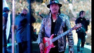 Carlos Santana visits Three Square Food Bank in Las Vegas