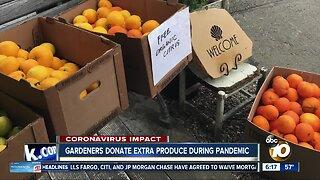 Gardeners donate extra produce during Coronavirus Pandemic