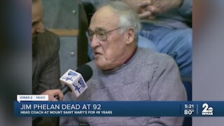 Mount St. Mary's Icon Jim Phelan Dead at 92