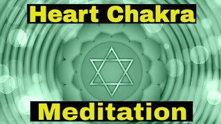 Heal Your Heart Chakra   Aura Cleanse   Chakra Healing Meditation