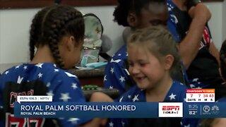Royal Palm Beach honors softball all stars