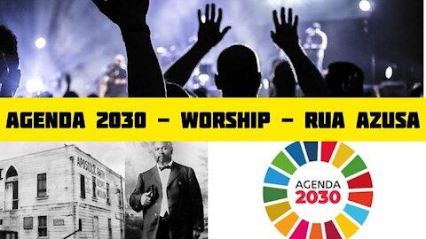 """105 - """"IGREJA 2030"""" - Worship service;Rua Azuza;Pentecostalismo;Ministério de adoradores"""