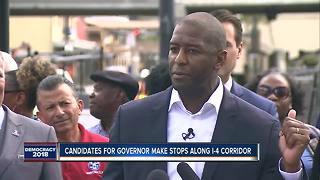 FL Governor candidates make stops along I-4 corridor