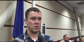 Veteran talks about court program