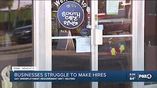 Businesses continue to struggle with hiring