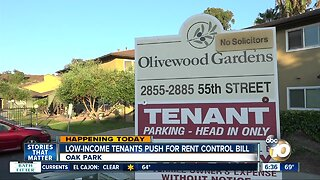 Low-income tenants in San Diego push for statewide rent control bill