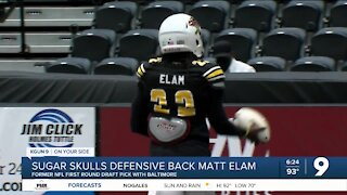 Matt Elam trying to work his way back to the NFL