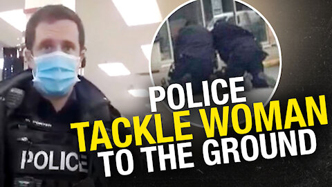 New Brunswick woman arrested, pinned by cops for entering store while mask exempt