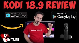 KODI 18.9 INSTALL & REVIEW   APPS