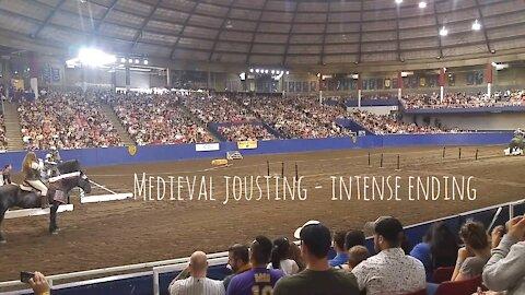 Medieval Jousting - Intense Ending