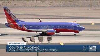 Coronavirus pandemic hitting airline industry hard