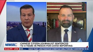 CHINESE CITIZEN JOURNALIST SENTENCED TO 4 YEARS IN PRISON FOR COVID REPORTING