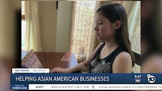 Teen creates site to help Asian American businesses