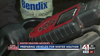 Preparing vehicles for winter weather