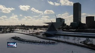 Milwaukee winter wonderland in early March