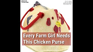 Every Farm Girl Needs This Chicken Purse