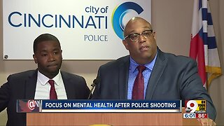 Focus on mental health after police shooting