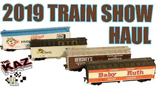 2019 Train Show Haul