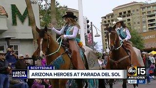 Arizona heroes honored at Parada del Sol